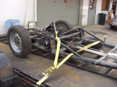 Porsche 550 Spyder kit car chassis with title