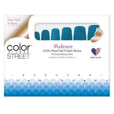 COLOR STREET Nail Pedicure Strips ~ How Swede It Is - FREE SHIPPING