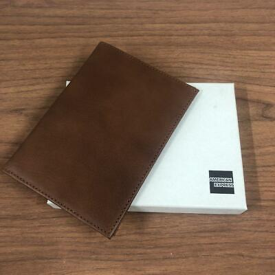American Express Card Holders Limited  Leather Passport Case Birthday Gift