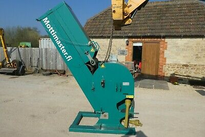 Holmett Mottimaster Wood Chopper Pto Driven Year 2011 Fits Tractor