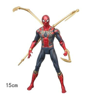 Hot US Marvel Spiderman Avengers Infinity War Iron Spider-Man Action Figure Toy