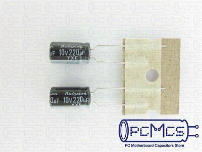 20 Rubycon YXF series 16V 100UF 105c LongLife Low impedance Japan Make Capacitor