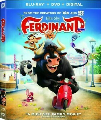 Ferdinand (Blu-ray ONLY, 2018) DISC IS MINT