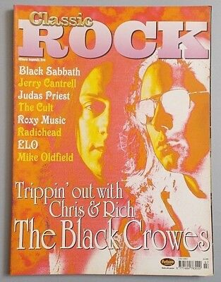 CLASSIC ROCK #29 Jul. 2001 - BLACK CROWES / JERRY CANTRELL / JUDAS PRIEST