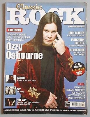 CLASSIC ROCK #17 Aug. 2000 - OZZY / RITCHIE BLACKMORE / THE ALMIGHTY
