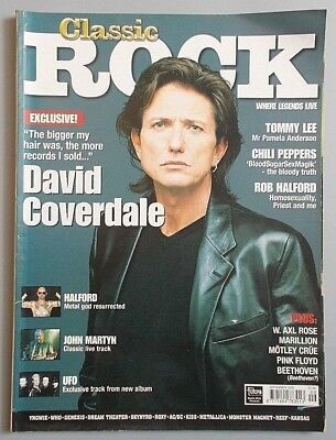 CLASSIC ROCK #18 Sept. 2000 - DAVID COVERDALE / RED HOT CHILI PEPPERS / HALFORD