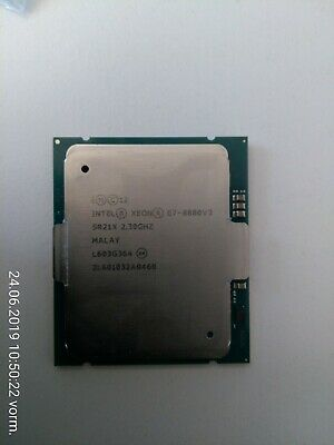 Intel Xeon E7-8880 v3 2.3GHz 18 Cores 45M 150W CPU Processor SR21X