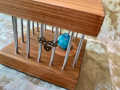 Dungeons & Dragons Dice Jail for Naughty Dice DnD Prison RPG gift Cage gifts DM