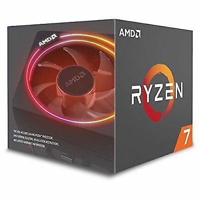 AMD 2700X Ryzen 7 CPU , New in box. Not Opened. FREE POSTAGE!!