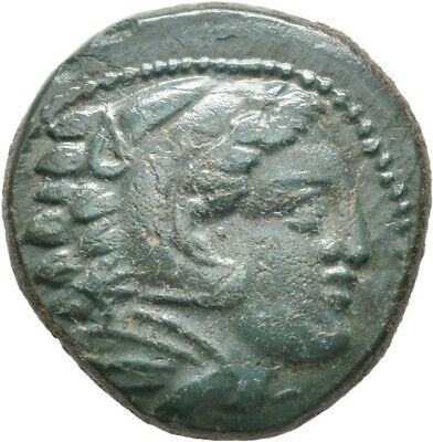 Lanz  Macedon Ae Uncertain Mint Alexander Iii The Great Heracles Bow  $Vg1150