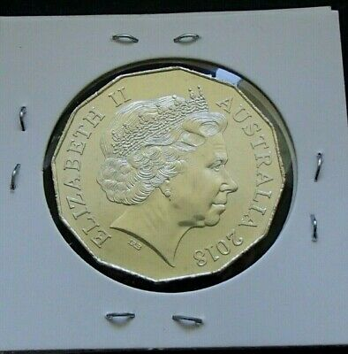 2018 Australia Uncirculated Fifty 50 Cent Coin - Elizabeth II