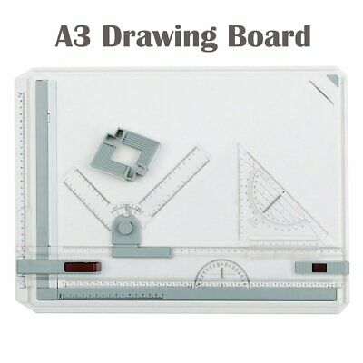 A3 Drawing Board with Parallel Motion and Adjustable Angle