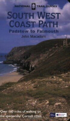 South West Coast Path: Padstow to Falmouth (Nation... by Macadam, John Paperback