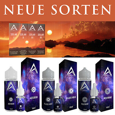 3 x Antimatter Asterion Neutrino Helios Black Hole Proxima Deuterium 10ml Aroma