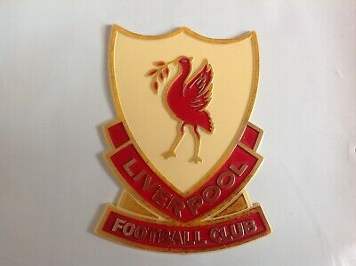 COLLECTABLE 1960/70s LIVERPOOL FOOTBALL CLUB DOOR OR WALL EMBLEM.