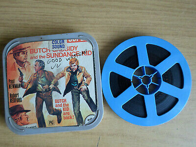 Super 8mm sound 1X200 BUTCH CASSIDY AND THE SUNDANCE KID. Paul Newman.