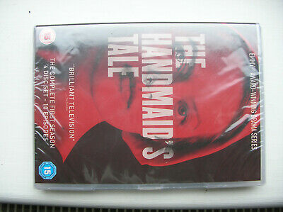 THE HANDMAIDS TALE SEASON 1 UK R2 DVD - Complete First Season new and sealed