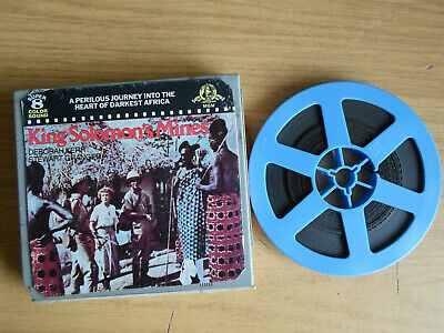 Super 8mm sound 1X200 KING SOLOMONS MINES. Deborah Kerr classic.