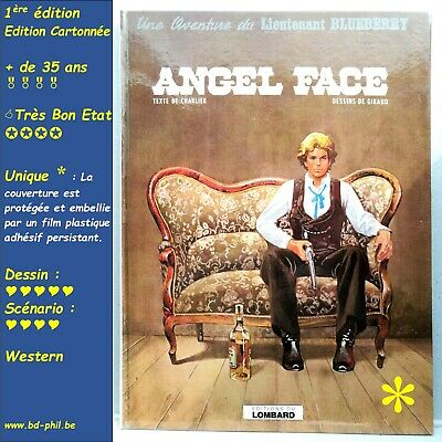 Blueberry, 17, Angel Face, Giraud, Charlier, Lombard, EO, 1975, EN, C