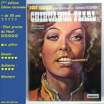 Blueberry, 1, Chihuahua Pearl, Giraud, Charlier, Lombard, EO, 1973, EN