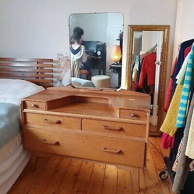 Vintage mid century g plan dressing table / chest of drawers