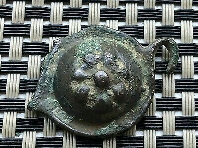 Ancient Byzantine Medieval Bronze Buckle Circa 800-1100 Ad Very Rare