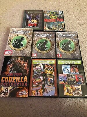Godzilla DVD Collection Rare OOP Biollante, Gojira, Ghidorah 1950s-2000s