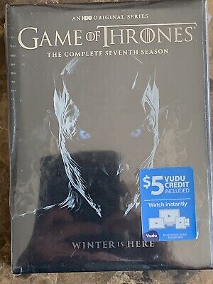 Game of Thrones: The Complete Seventh Season (DVD, 2017, 4-Disc Set) NEW sealed