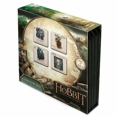 The Hobbit Drinking Coasters 4 Set - Boxed Music Lovers Gift