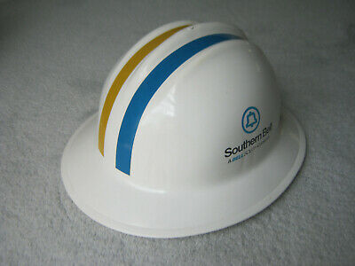 Vtg Southern Bell/Bell South Telephone Hard Hat Adult Helmet by Hard Boiled RARE