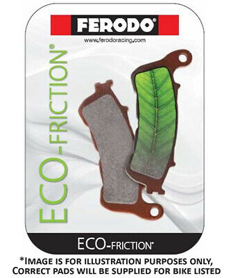 Ferodo Eco Friction EF Rear Brake Pads FA305 Kawasaki KFX 50 B KSF 4T 2007-2015