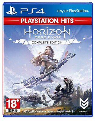 NEW PS4 Horizon Zero Dawn: Complete Edition (HK Best, CHI + ENG)