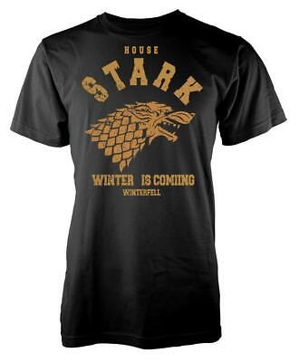 Game Of Thrones House Stark Winter Is Coming Winterfell Adult T Shirt