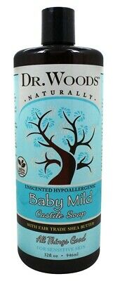 Dr. Woods - Baby Mild Liquid Castile Soap with Fair Trade Shea Butter Unscented
