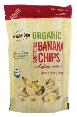 Woodstock Farms - Organic Sweetened Banana Chips - 6 oz.