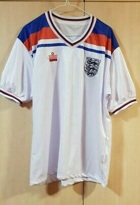 England 1982 World Cup Home Football Shirt by Admiral