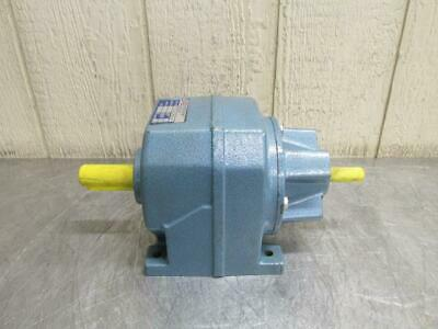 David Brown Radicon Inline Gear Reduction Box Speed Reducer Gearbox 10:1 Ratio