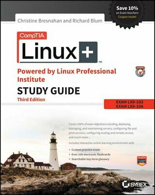 CompTIA Linux+ Powered by Linux Professional Institute Study Gu... 9781119021216