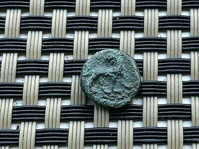 "Miletos, Ionia 175-125 Bc Ae10 ""Apollo & Lion"" Ancient Greek Bronze Coin"