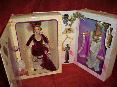 Victorian Lady & Grecian Goddess Collector Edition Great Eras Barbies dolls NRFB