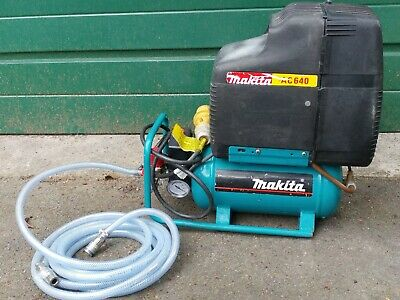 Makita AC640 Electric Air Compressor With 6L Tank 1.5hp & Safety Valve 110v