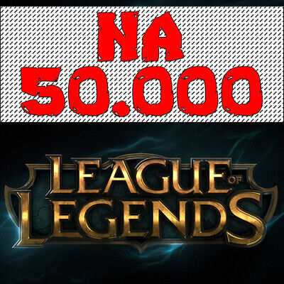 NA League Of Legends Account LOL NA Smurf 50000 BE IP Unranked Level 30