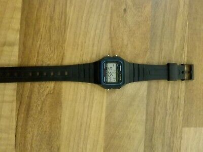 Casio F91w Genuine