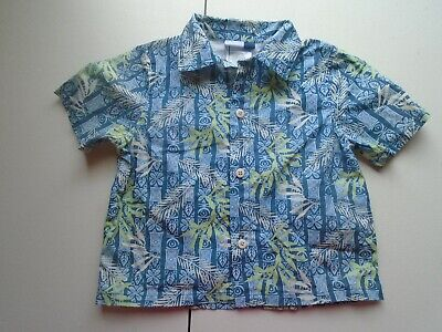 VITAMIN KIDS Boys size 24 mo Cute TROPICAL Shirt