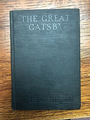 The Great Gatsby - F. Scott Fitzgerald - First Edition / 1st Printing 1925