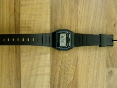 Genuine Casio F-84W digital retro watch