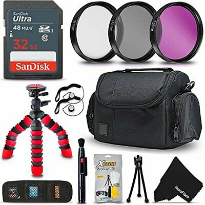 58mm PRO Accessories Kit for f/ Canon EOS Rebel T7