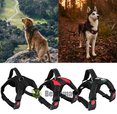 No Pull Adjustable Dog Pet Vest Harness Quality Nylon S/M/Large/XL/XXL Harness