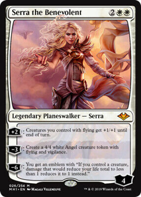 x1 Serra the Benevolent MTG Modern Horizons M M/NM, English