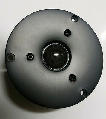 "Shielded 1"" Dome Tweeter Response by Peerless 8 Ohms 20W RMS 89dB New Free Post"